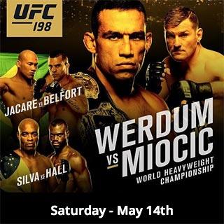 UFC 198 - Werdum vs Miocic