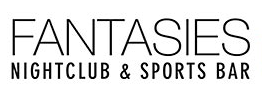 fantasties nightclub and sports bar menu logo