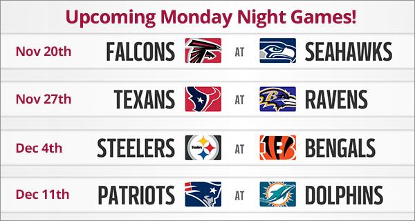 Monday Night Madness Football Line-up