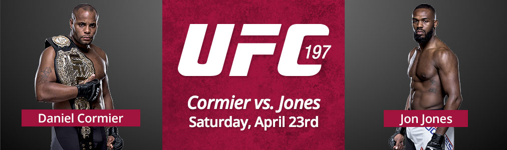 UFC 197: Cormier vs Jones 2