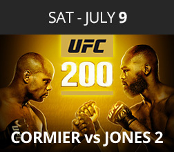 13 days of Christmas in July - UFC 200