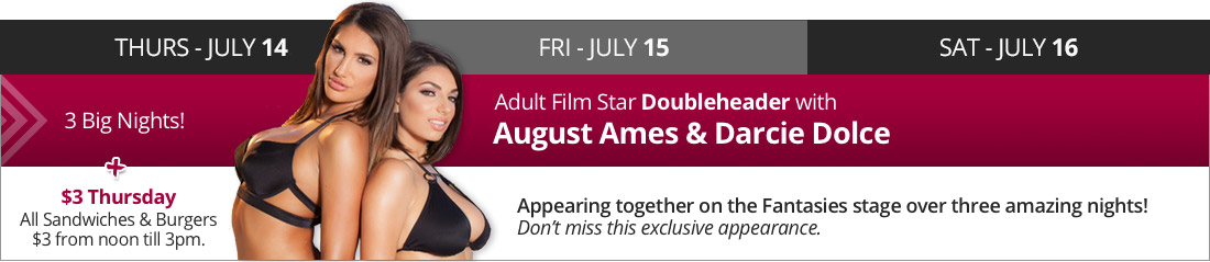 13 days of Christmas in July - August Ames and Darcie Dolce