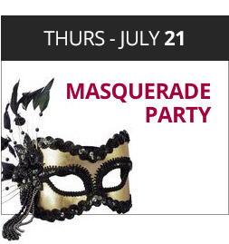 13 days of Christmas in July - Masquerade Party