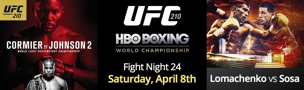 Fight Night 24 - April 8th