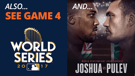 Baseball and Boxing