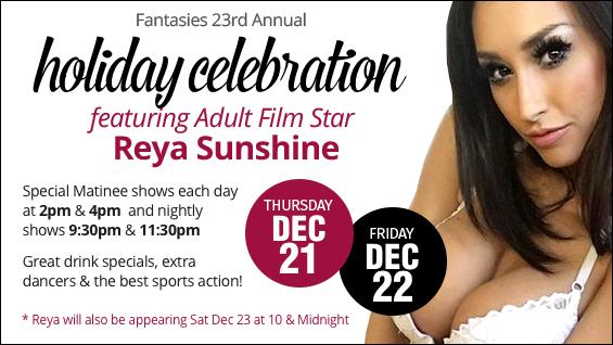 Holiday Celebration with Reya Sunshine