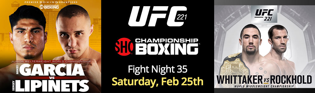Fight Night 35 - Feb 25th