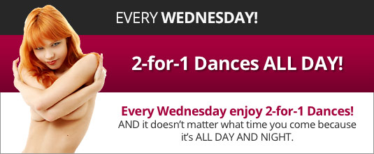 2-for-1 Dances All Day and Night